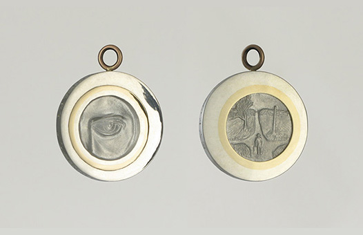 Robert Johnson Eyecon Pendant
